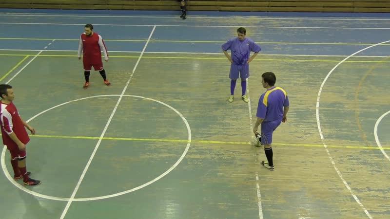 Буревестник - Шахтёр (2 тайм) 14.12.18г. Первенство Железногорска по мини-футболу.