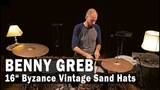 Meinl Cymbals 16 Byzance Vintage Benny Greb Sand Hats