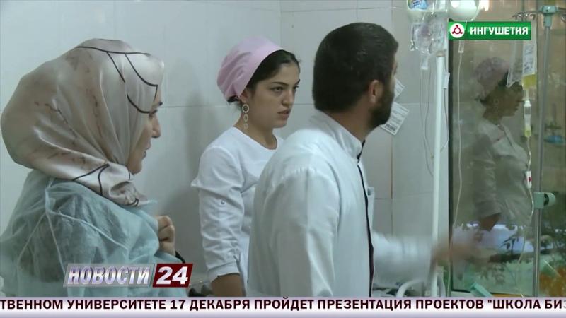 Ахмед Дзейтов доложил Евкурову о взрыве, произошедшем возле ТК Ковчег.