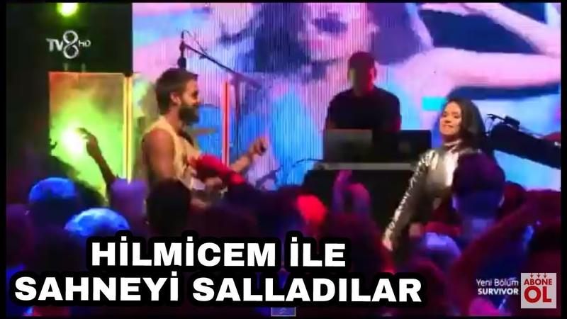 İnna konseri survivor 2018 - Hilmicem sahneye çıktı! | 82. Bölüm