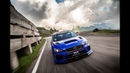 Subaru STI Type RA Time Attack Car the Transfăgărășan Highway