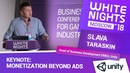Slava Taraskin Unity Keynote Monetization Beyond Ads