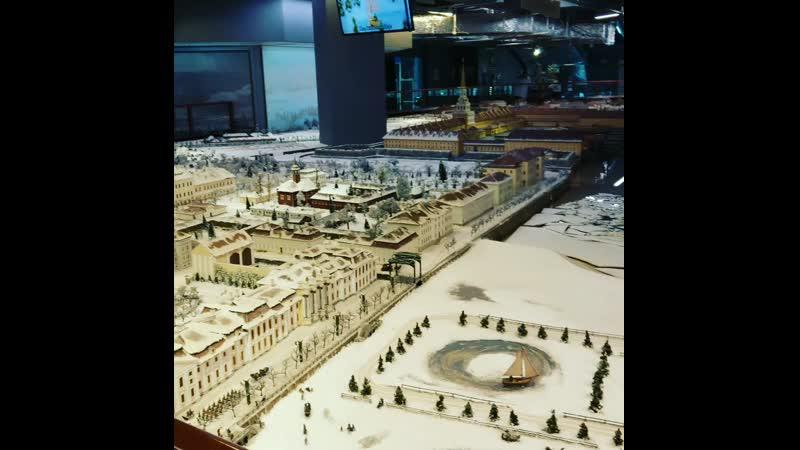 Музей-макет Петровская Акватория