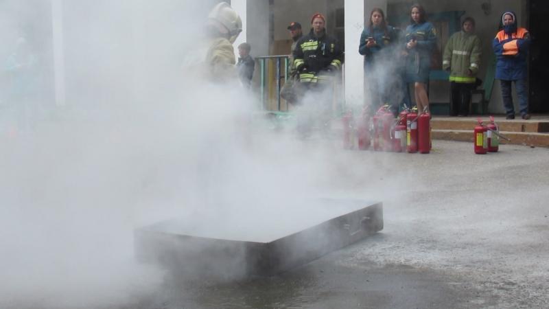 Конкурс Пожарников