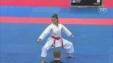 Dilara Eltemur (TUR) - Hiraku Ono (JPN) - Karate 1 Dubai 2018 - Bronze Medal Kata