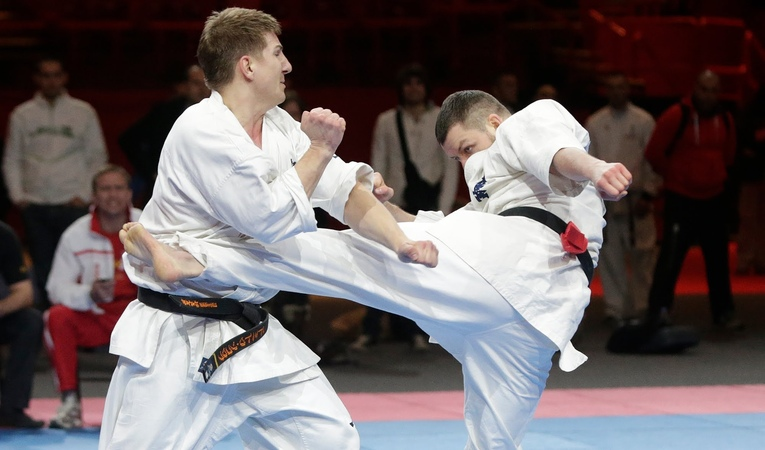International Kyokushin Challenge : Daniel BUKOWY (Pologne) Vs Dmytro SOKOLOV (Ukraine))