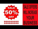SALE OFFERS WILL INCREASE YOUR BUSINESS BEST BUSINESS TRICK Business Ideas BusinessIdeas