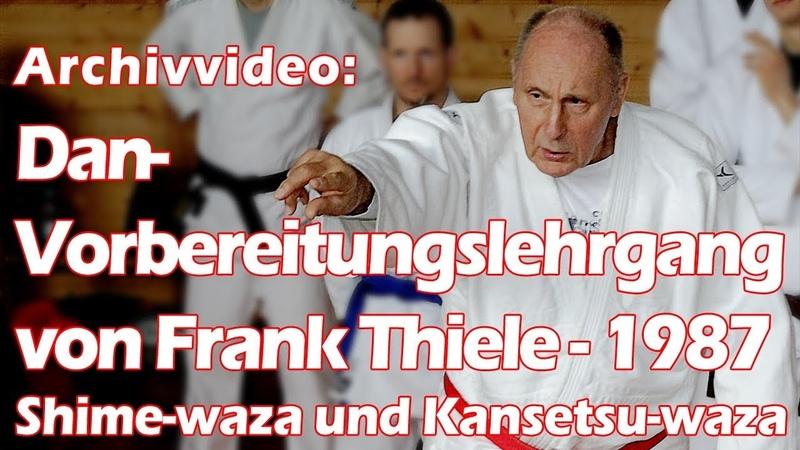 Dan-Vorbereitungslehrgang von Frank Thiele (1987)
