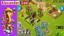 Talking Tom Camp - Slinger Level 5 ЛАГЕРЬ ГОВОРЯЩЕГО ТОМА Атаки на Лагеря Tom Camp Gameplay Android