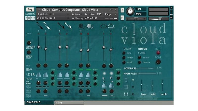 Sound Dust Cloud Viola²