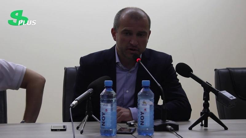 APL, Matchday 2 FC Ararat-Armenia Head Coach about 2-1 defeat from FC Ararat Yerevan