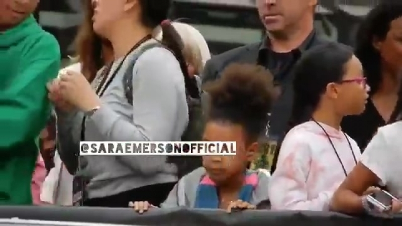 Реакция дочери Джей-Зи и Бейонсе на интро тура On the Run ||