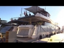 2019 Feretti 780 Yacht - Deck and Interior Walkaround - 2018 Cannes Yachting Festival