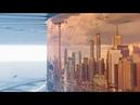 3D Panorama Sci-Fi Video Displays