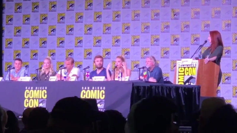 Is it challenging to speak the Old Norse on the show VikingsSDCC