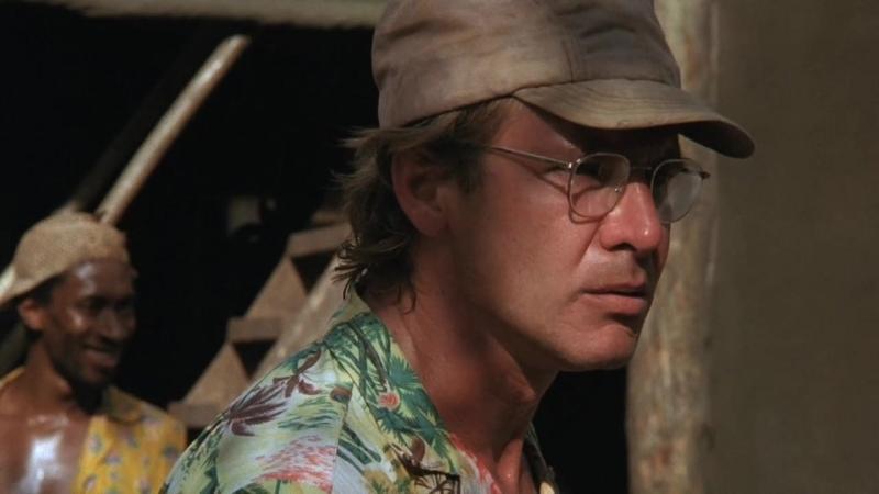 БЕРЕГ МОСКИТОВ (1986) - приключения, драма, триллер. Питер Уир 720р