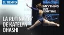 Increíble presentación de la gimnasta Katelyn Ohashi | EL TIEMPO