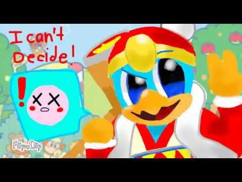 I CAN'T DECIDE [King DeDeDe Kirby] (animation, not meme)
