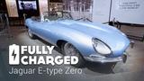 Jaguar E-Type Zero  Fully Charged