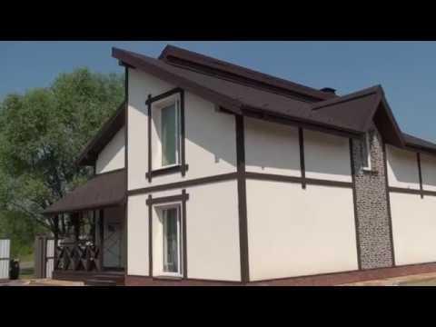Дом из газобетона утеплён фасадным пенополистиролом 120мм прошло два года