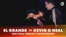 EL GRANDE vs KEVIN O NEAL   SEMI FINAL   German Beatbox Championship 2018