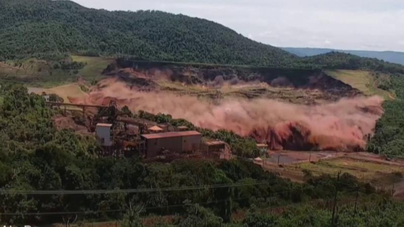 Катастрофа в бразильской плотине