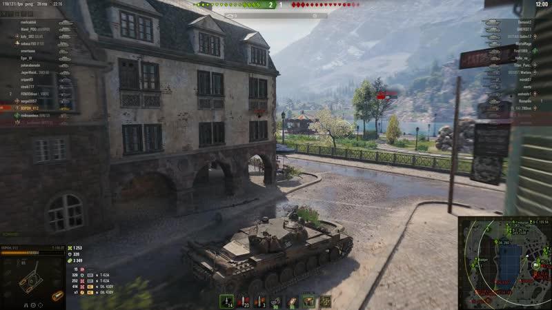 World of TanksТ-100лт Ласвилль3000 урона и 9000 засвета 12.01.19
