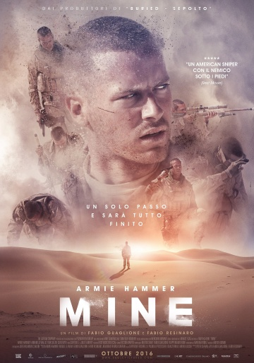 Мина (Mine) 2016 смотреть онлайн