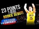 Mo Wagner Rookie Debut 2018.07.02 Lakers vs Kings - 23 Pts, 7 Rebs! | FreeDawkins