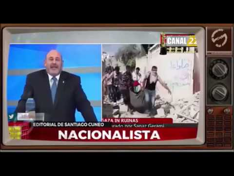 Santiago Cúneo le contesta al sionismo parasitario de la argentina