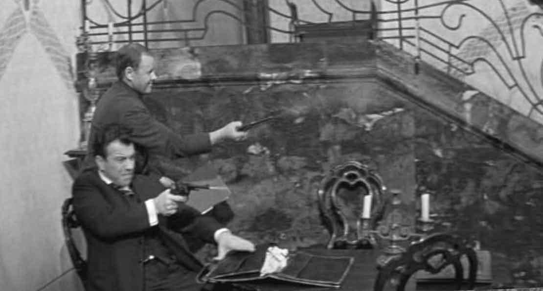 Нападение Блюмкина на немецкое посольство