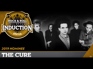 The cure rock  roll hall of fame induction ceremony 2019