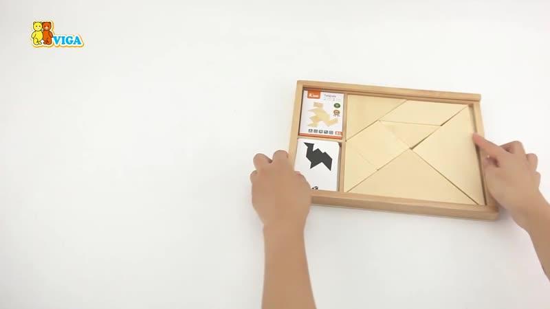 Настольная игра - головоломка Танграм