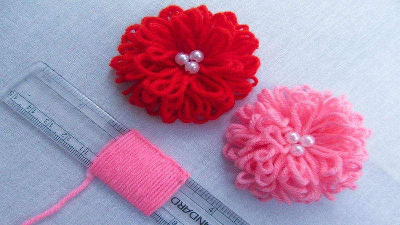 Hand Embroidery Amazing Trick Easy Flower Embroidery Trick with Scale Sewing Hack