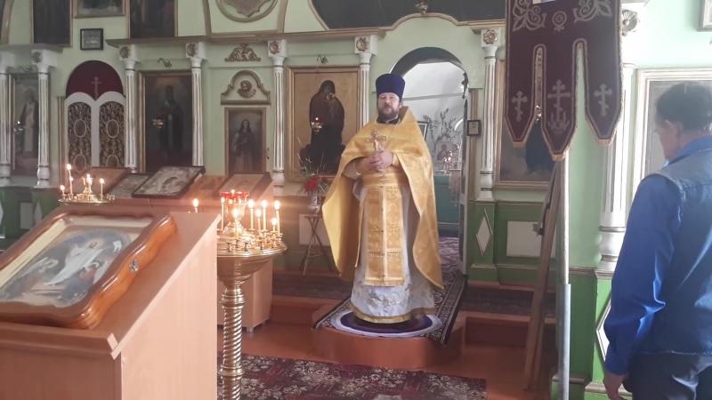 Проповедь 15 июля Храм Святой Троицы