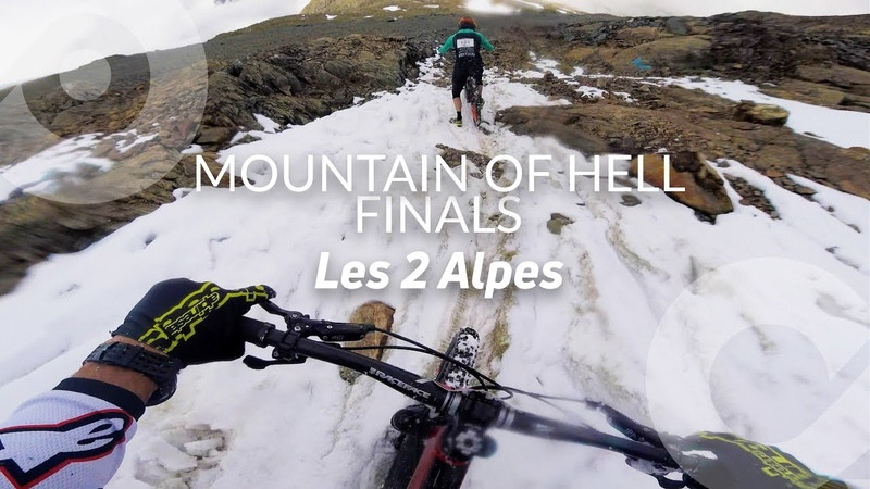 MOUNTAIN OF HELL FINALS, Kilian Bron full run (3rd), Les 2 Alpes, France