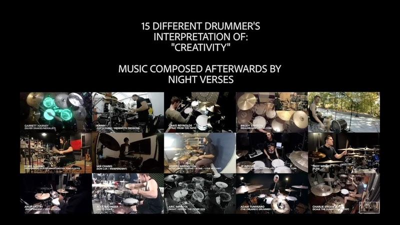 Aric Improta | Interpretations: Creativity (15 Drummers / 1 Song)