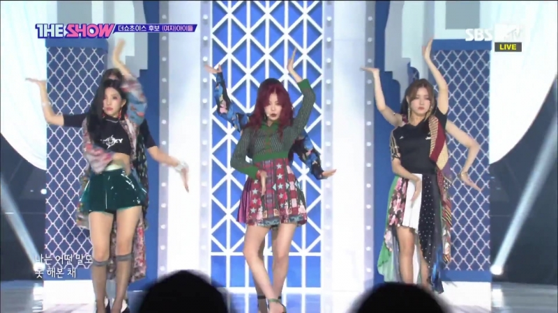 (G)I-DLE - Hann @ The Show 180821