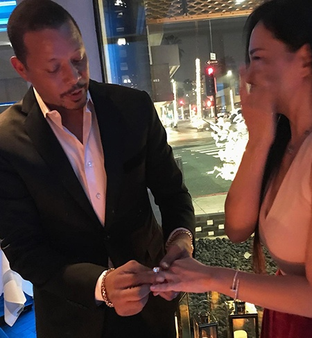 Звезда сериала «Империя» Теренс Ховард вновь сделал предложение бывшей жене