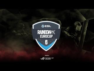 ESL Rainbow 6 Euro Cup| 6 Октября