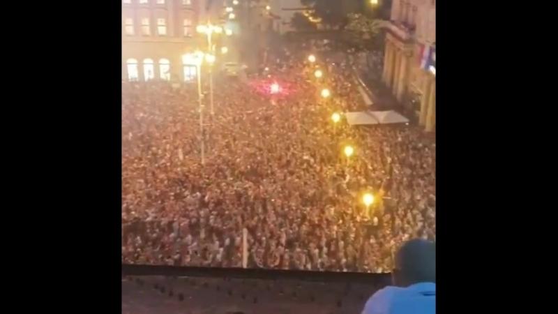 560 тысяч человек из 790 тысяч населения Столицы вышли праздновать медали сборной