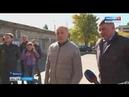 Ремонт во дворе дома на улице Ярославская в Вольске осмотрел губернатор области
