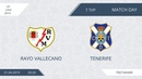 AFL19. Spain. La Liga. Day 7. Rayo Vellecano - Tenerife