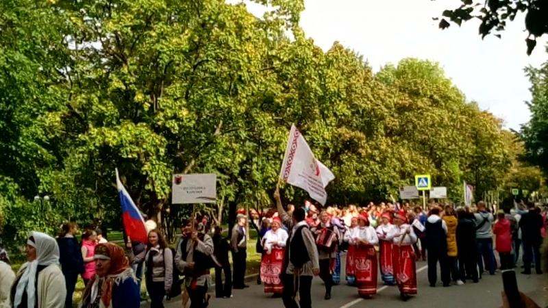 участники Всероссийского фестиваля финно- угорских народов