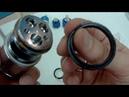 Замена резиновых прокладок в картриджном смесителе