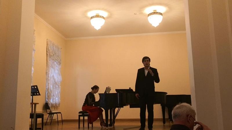 Тотраз Циукаев - речитатив и ария Самсона из оратории Самсон