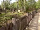 Диснейленд (видео 13) В индейской деревне Покахонтас.