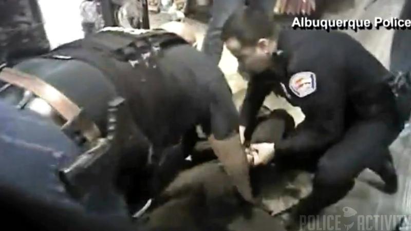 Bodycam Of Police Chase Caught in Cracker Barrel