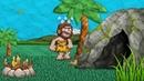 Creative Commons Cavemen Птеродактиль Динозавр Анимация для детей
