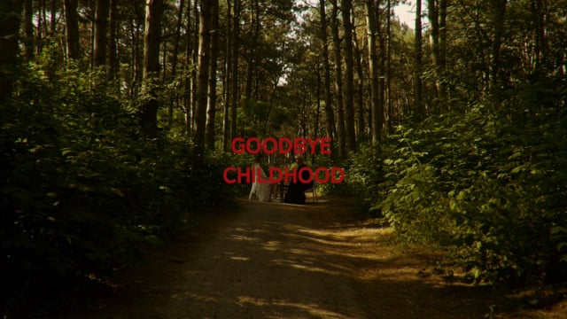 Goodbye childhood
